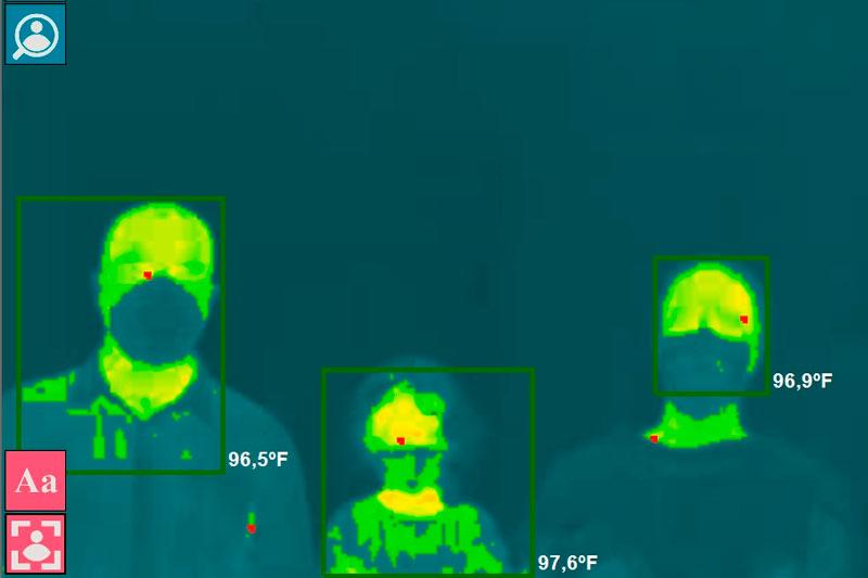 HTC Human Temperature Control Server Based