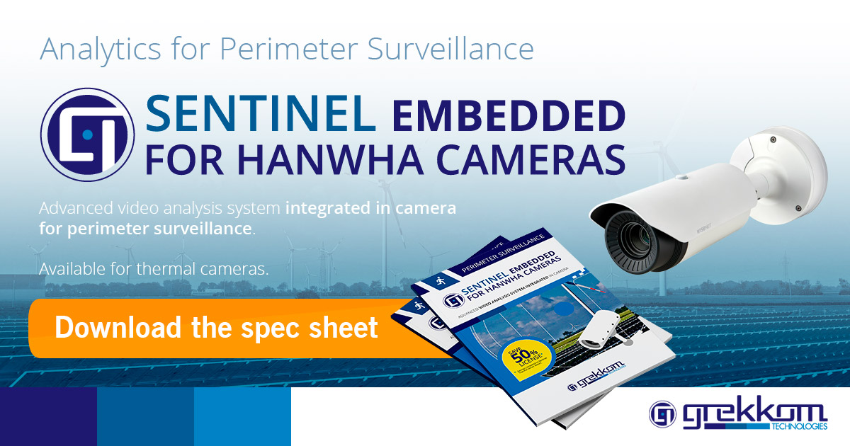 Sentinel Embedded for HANWHA Cameras