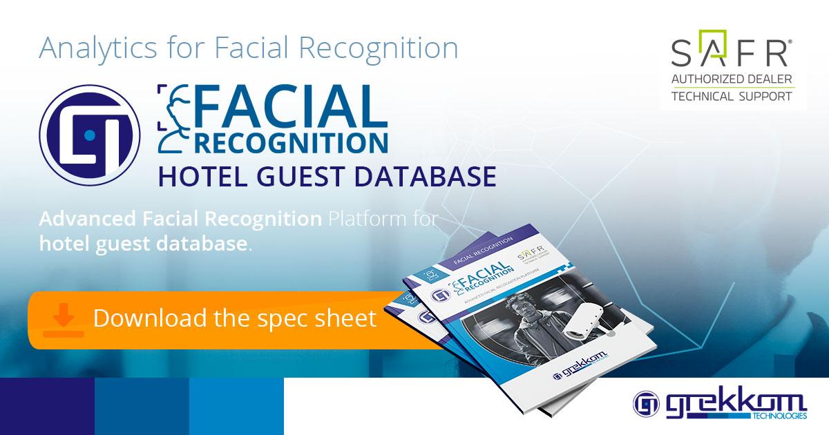 Hotel Guest Database through Facial Recognition - Grekkom