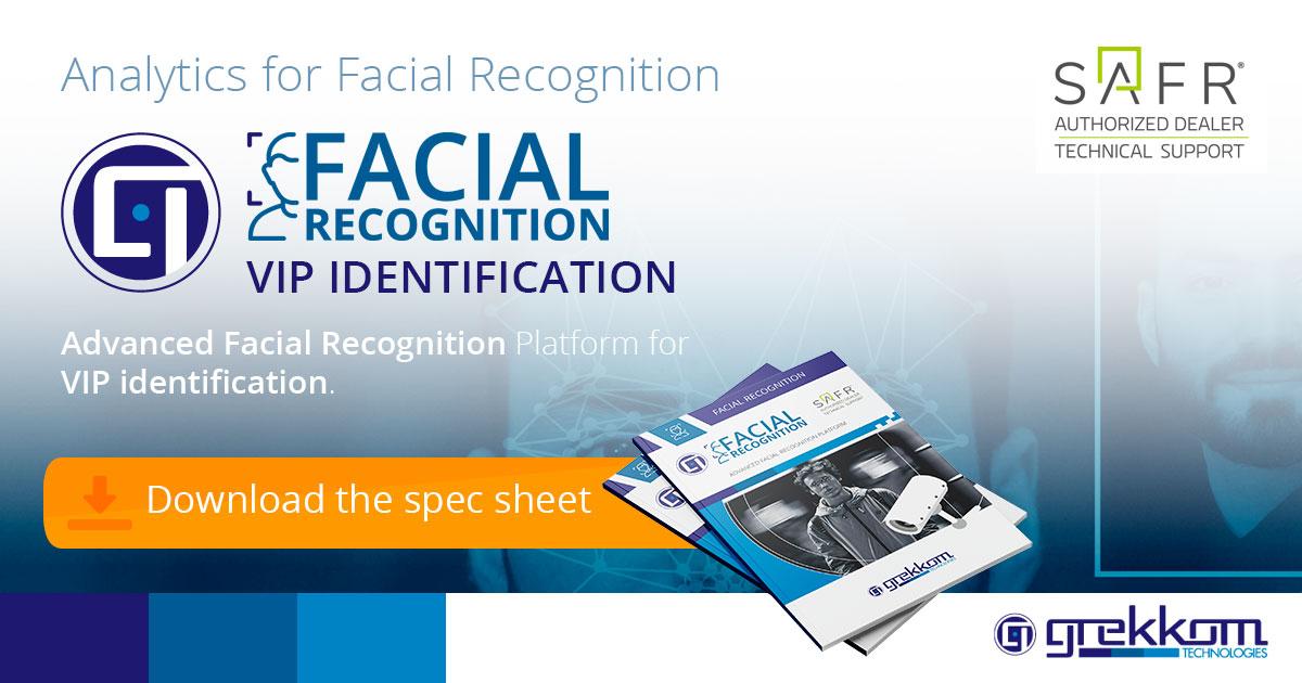 Identification of VIP through Facial Recognition - Grekkom