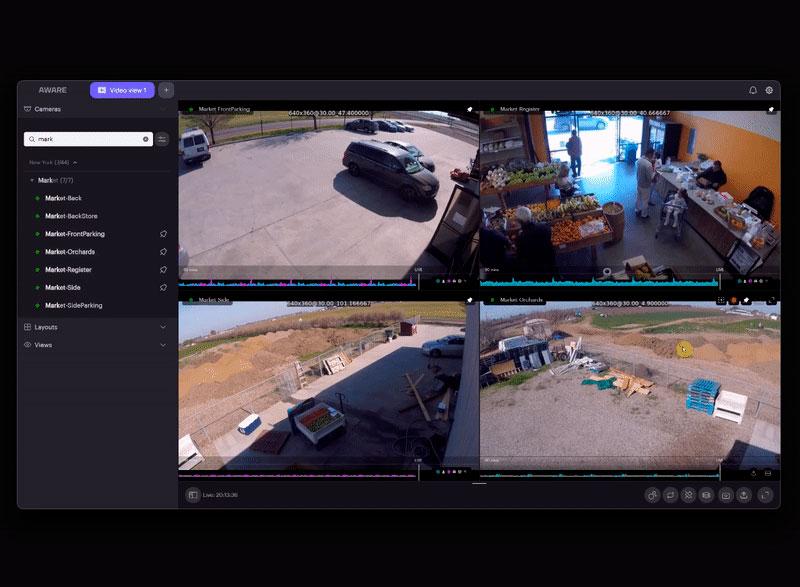 Vista de video con Spotlight